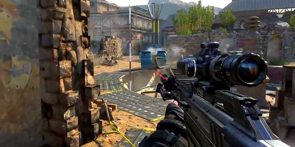 Screenshot from Call of Duty