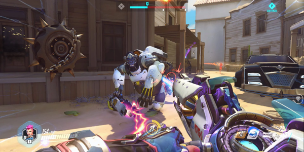 Screenshot from Overwatch