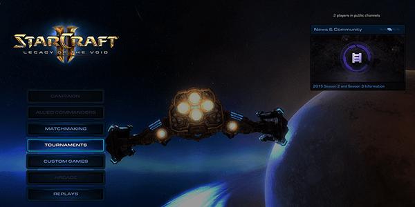 Screenshot from Starcraft 2