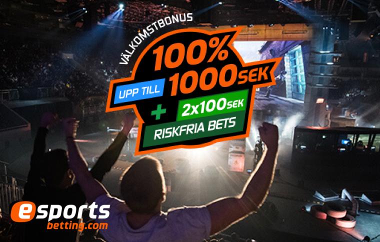 E-sport betting – Matcher, odds och bonusar